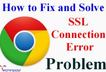 SSL Connection Error