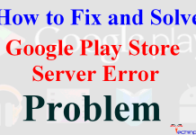 Google Play Store Server Error