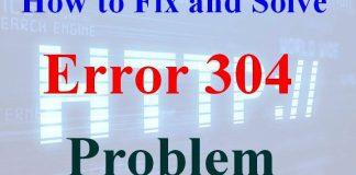 Error 304