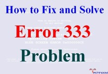 Error 333