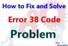 Error 38