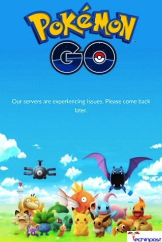 Pokemon Go Our Servers Are Experiencing Issues