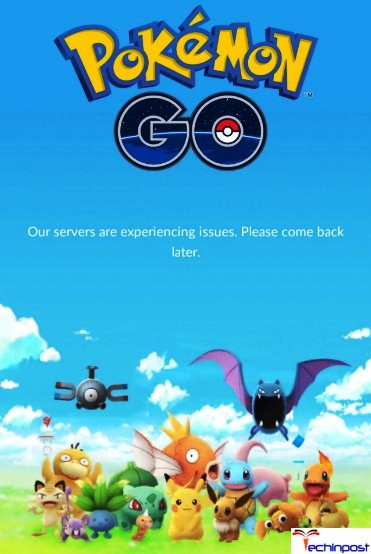 SOLVED] Pokemon Go Our Servers Are Experiencing Issues Error