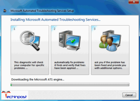 Run the Microsoft Automated Printer Troubleshooter