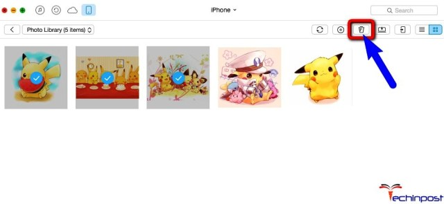 Selectively Delete Synced Photos from iPad or iPhone without iTunes