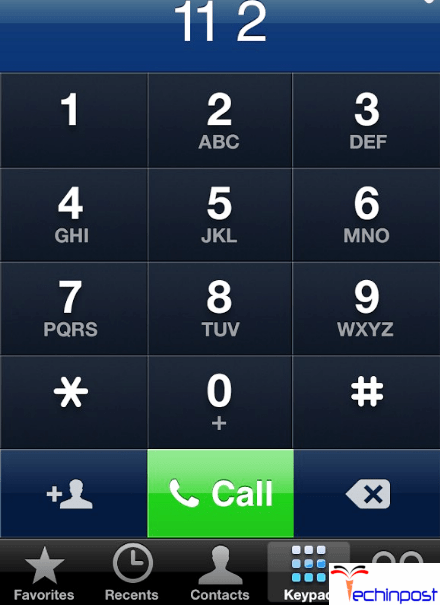 By the Emergency Call Number Method