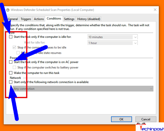 Change the Antimalware Service Executable Scan Properties