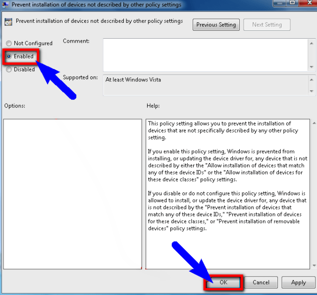 Configure the Group Policy Settings