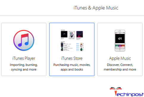 Contact the iTunes Support