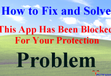 This App Has Been Blocked For Your Protection