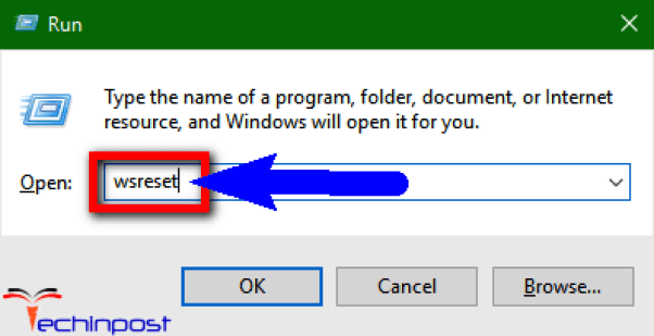 Reset your Windows Store Cache