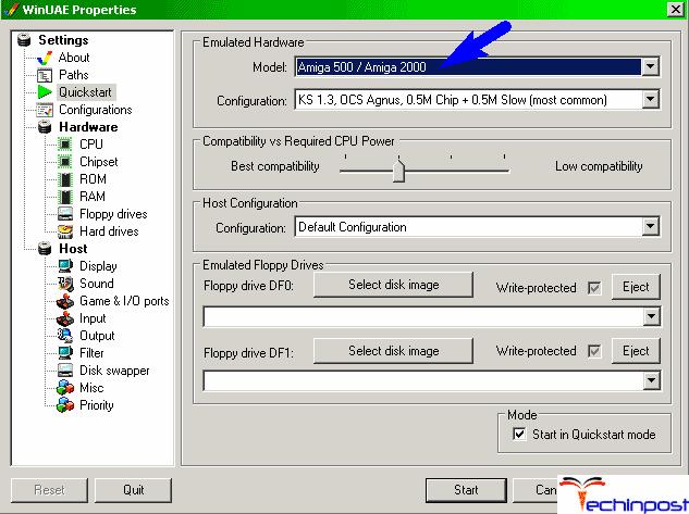 UAE (GNU General Public License) MAC Emulator for Windows