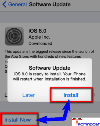 Update the IOS Software