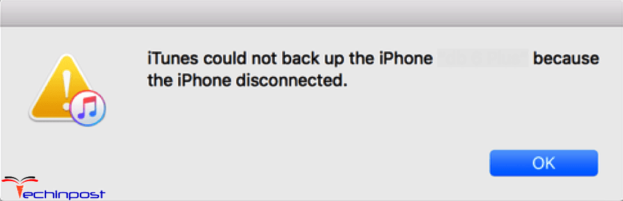 iphone not backing up fixed itunes could not backup the iphone because the 1589