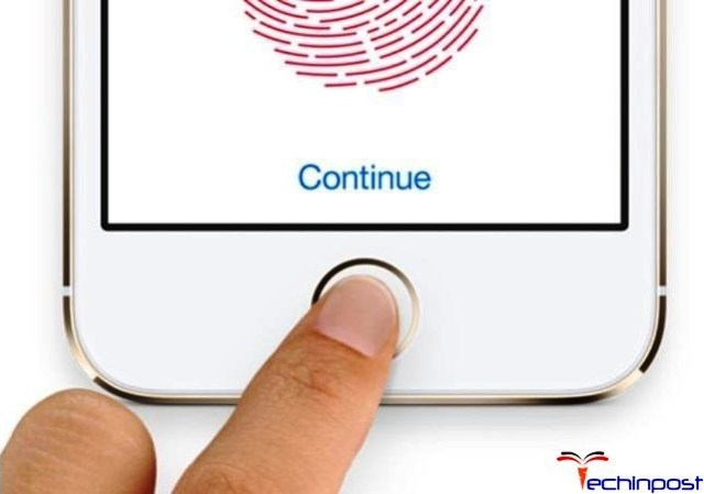 Clean the Touch ID Sensor