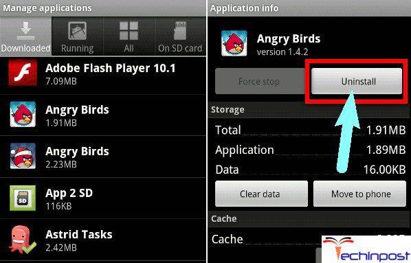Delete & Uninstall all the Unused Apps