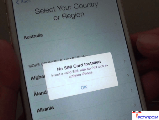 How to Activate iPhone without Sim Card