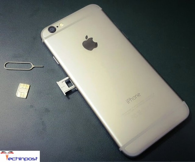 Remove your SIM Card & Reinsert it once Could Not Activate Cellular Data Network