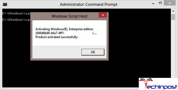 Run the slmgr -rearm Command in CMD (Command Prompt) This Copy of Windows is not Genuine