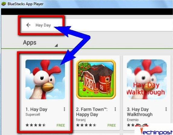 Search for Hayday there in the search section