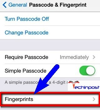 Unable To Complete Touch Id Setup Iphone