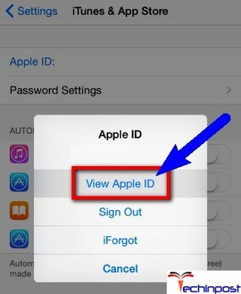 Verifying the Apple ID in Use in the same in iTunes & App Store