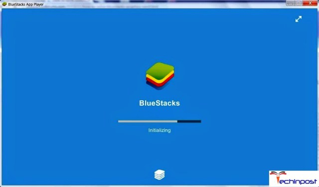 Bluestacks Stuck on Initializing