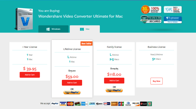 This is for Mac users with fantastic four offers to buy this converter