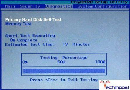 Checking Hard Disk Failure