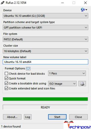 Using Rufus Software