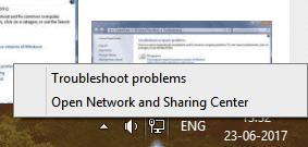 network adapter driver error windows 7
