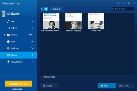 IOTransfer also allows you to transfer bulk pictures and videos