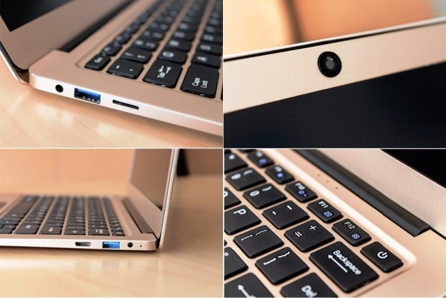 Jumper EZBOOK 3 PRO Ports and Connectivity