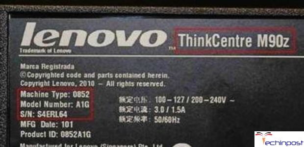 GUiDE] How to do Lenovo Serial Number Lookup & Find Product
