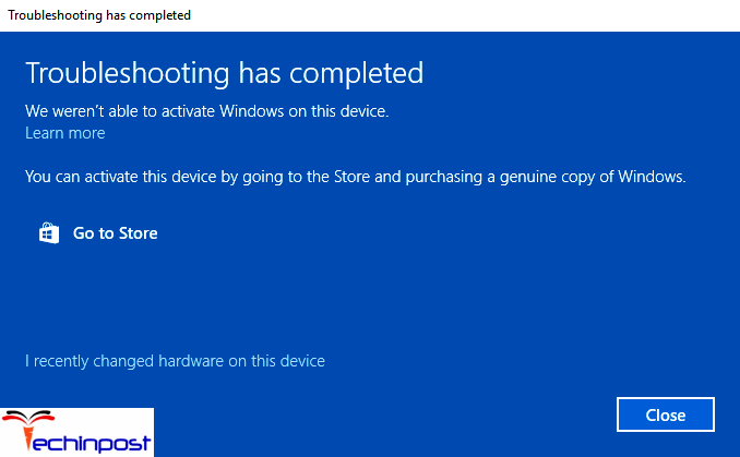 Use the Windows Troubleshooter Your Windows License will Expire Soon