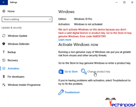 Use the Windows Troubleshooter