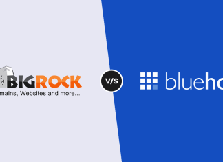 Bluehost vs Bigrock