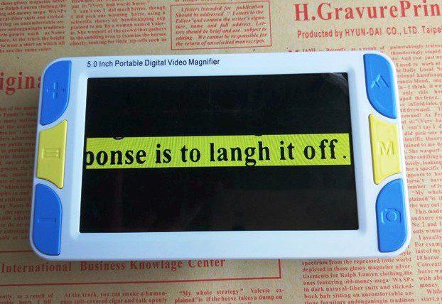 VD500 Portable Digital Video Magnifier Miscellaneous