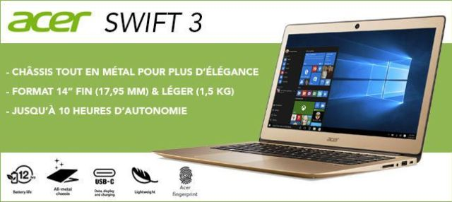 Acer Swift 3 SF314 Accessories