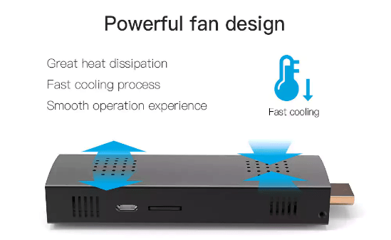 HIGOLE D2 Mini PC Stick Heat Dissipation