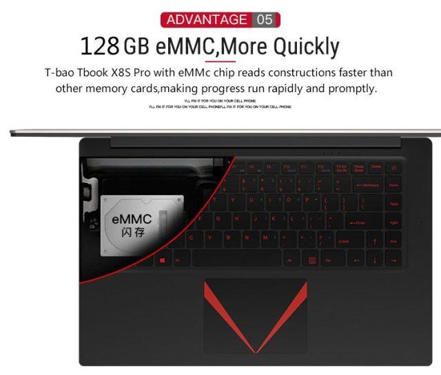 T - Bao Tbook X8S Pro Memory