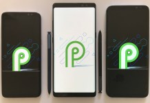 Android P Developer Preview