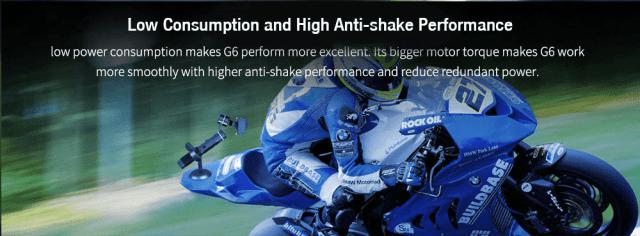 FY Feiyutech G6 Gimbal Stabilizer Performance