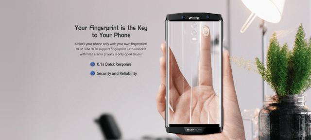 Homtom HT70 Fingerprint