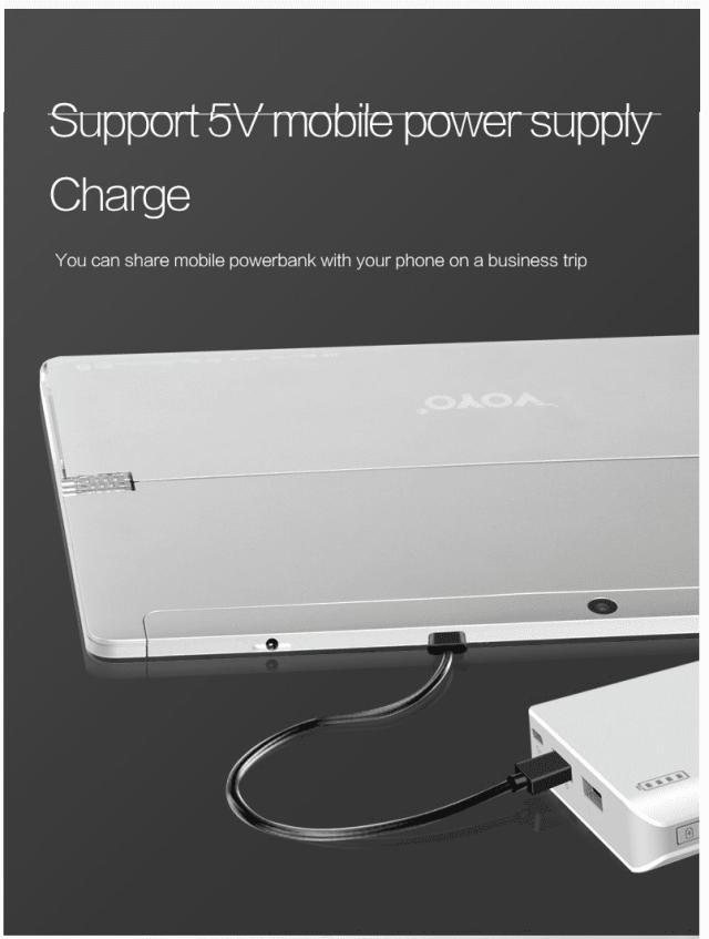 VOYO VBOOK I7 Plus Charging
