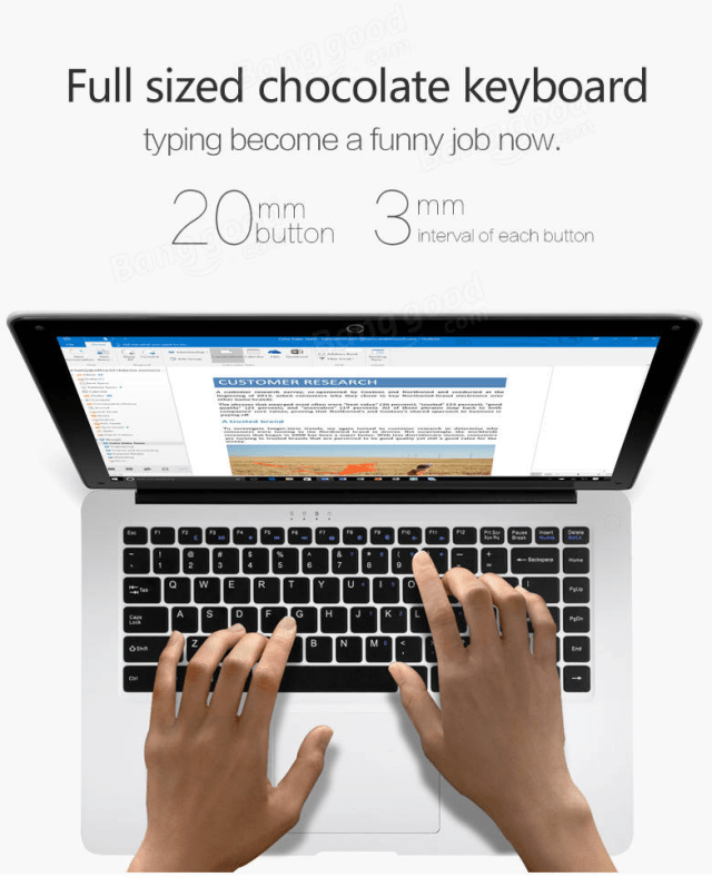 Voyo Vbook i3 Keyboard