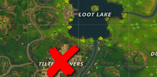 When is Tilted Towers being Removed