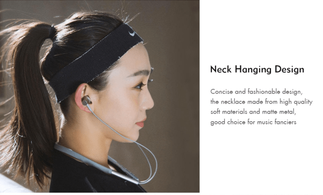 Xiaomi LYXQEJ01JY Bluetooth Earphones Design