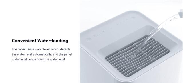 Xiaomi Smartmi Air Humidifier Water Flow
