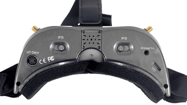 AOMWAY Commander V2 FPV Goggles Ports